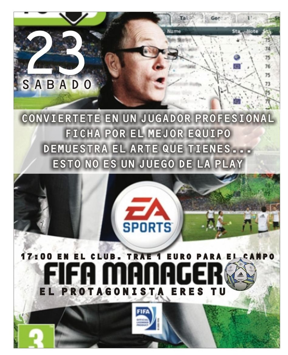 Sábado 23: Football Manager