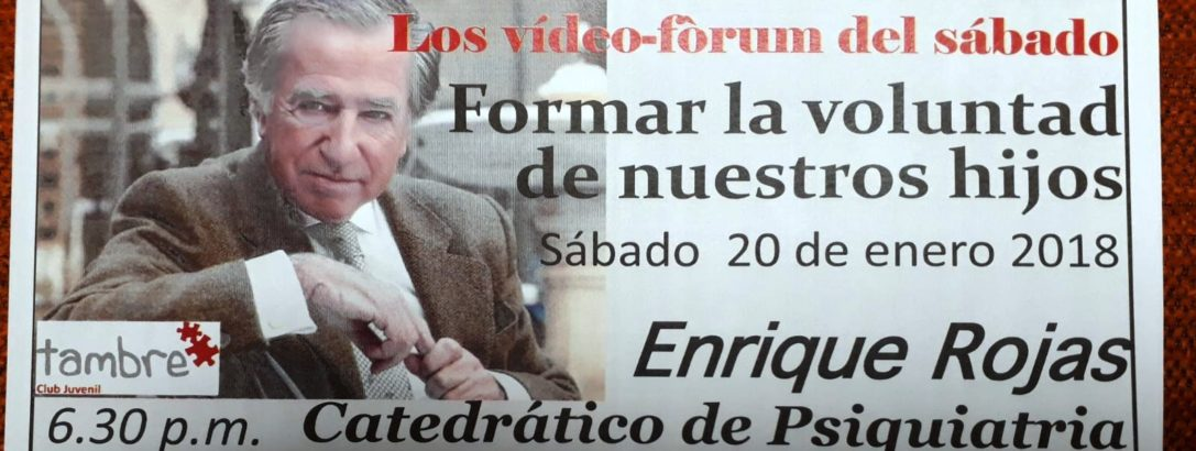 VIDEO FORUM (SABADO 20/01/2017 – 18,30 HORAS)